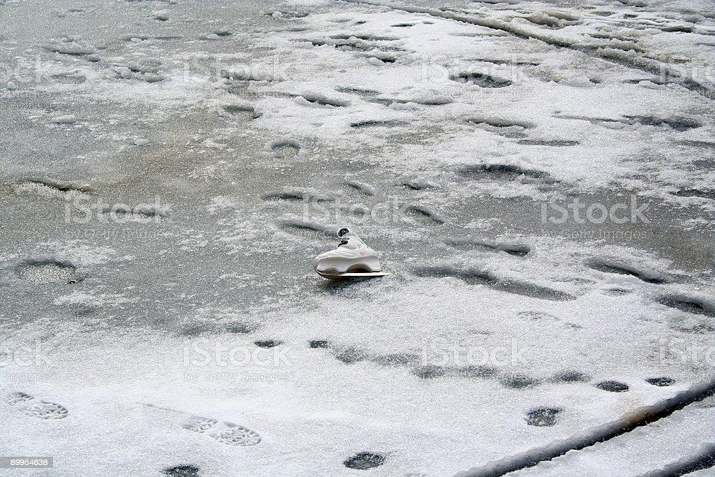 Skating Shoe royalty-free stock photo