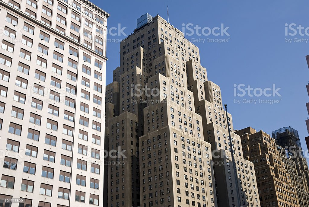 Skayscraper in NYC royalty-free stock photo