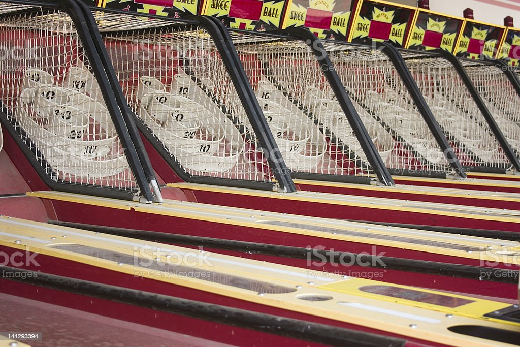 skee ball royalty-free stock photo