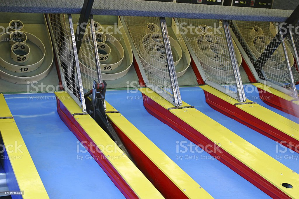 Skeeball Game royalty-free stock photo