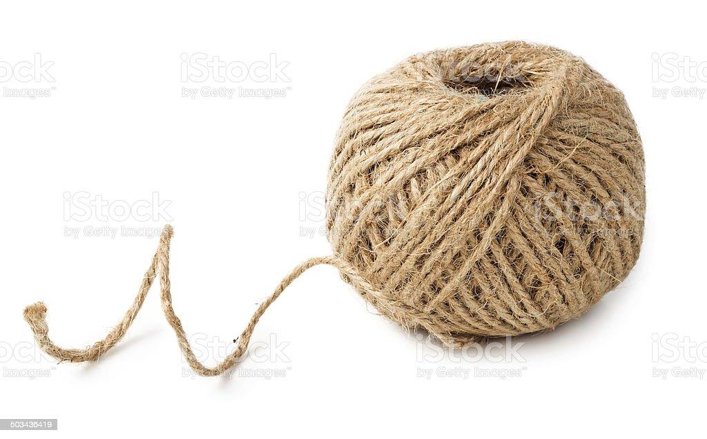 Skein of rope stock photo