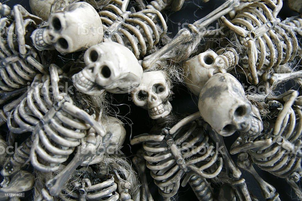 Skeleton Background royalty-free stock photo