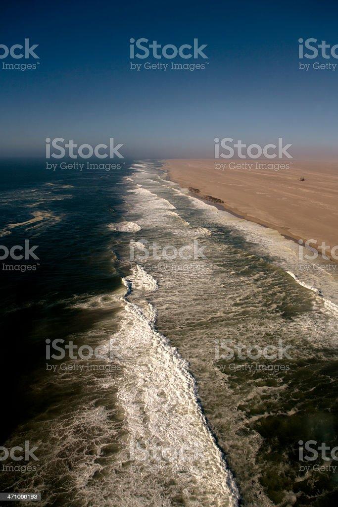 Skeleton Coast Namibia royalty-free stock photo