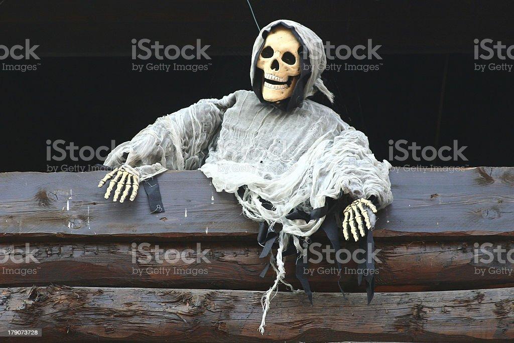 skeleton ghost stock photo
