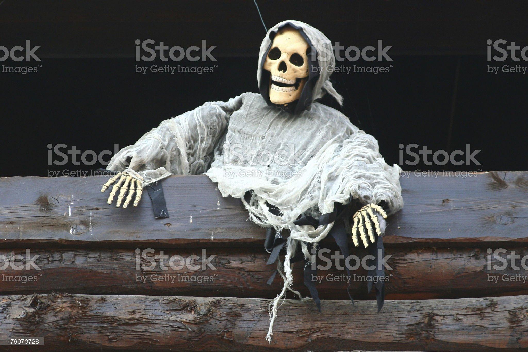 skeleton ghost royalty-free stock photo