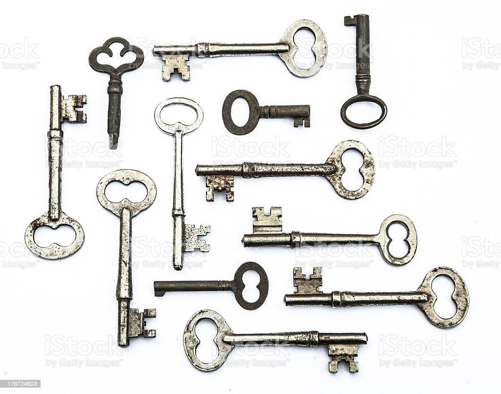 Skeleton Keys stock photo