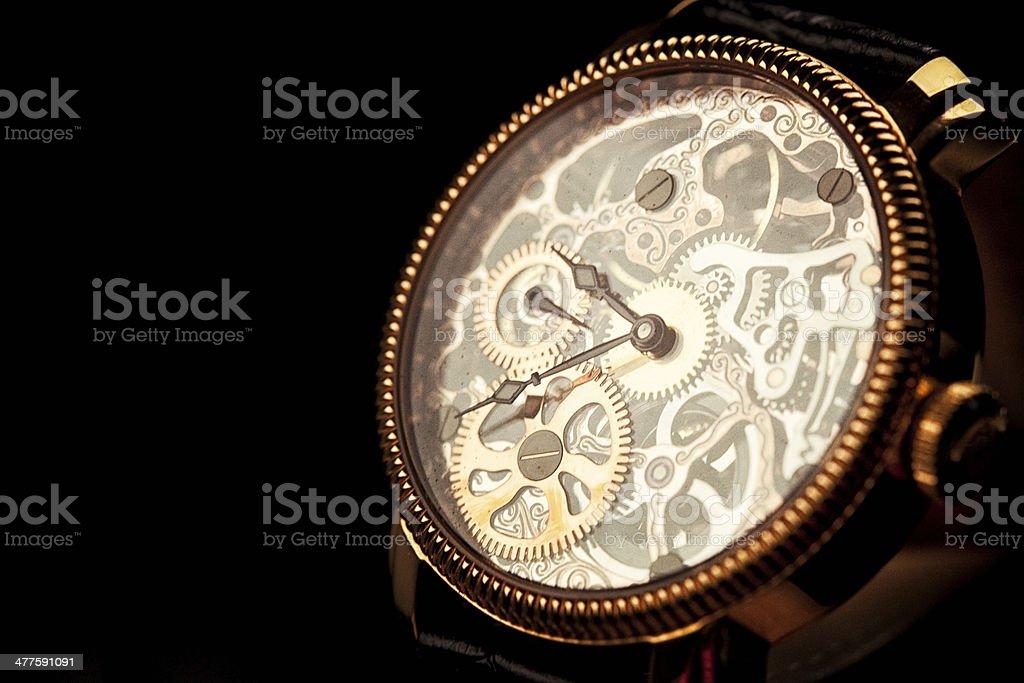 Skeleton Watch royalty-free stock photo