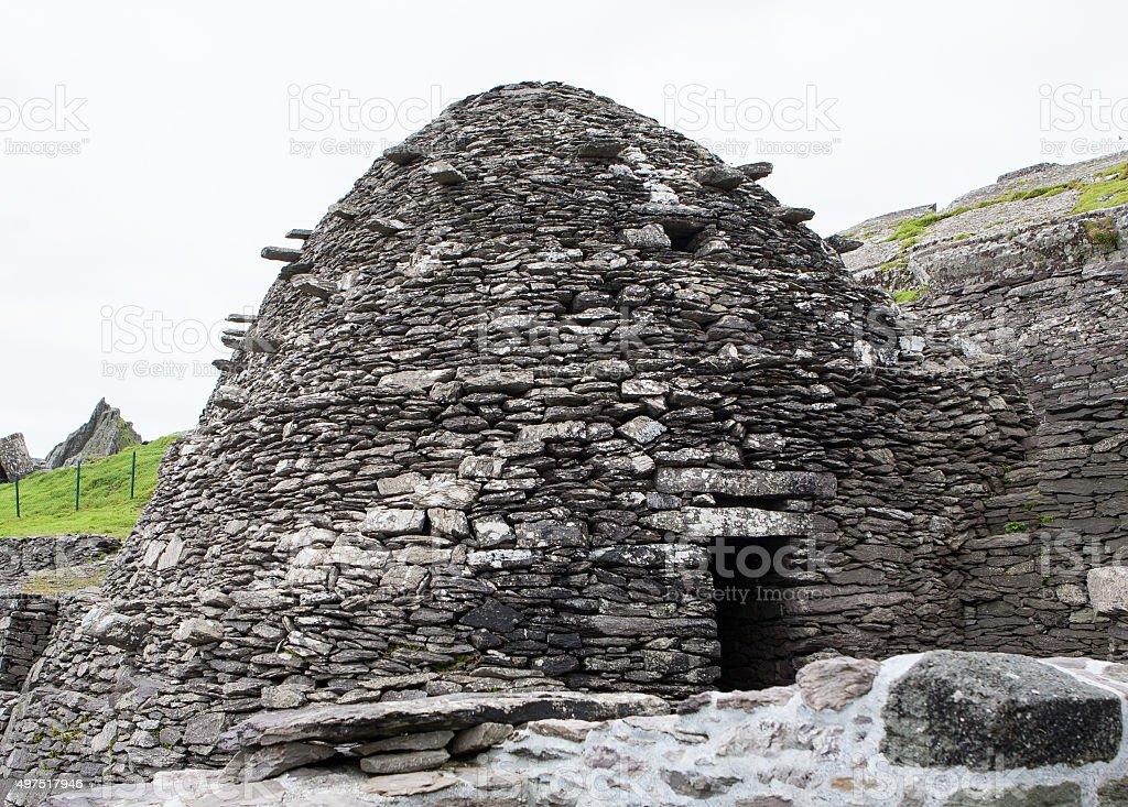 Skellig Michael Monastery, Ireland stock photo