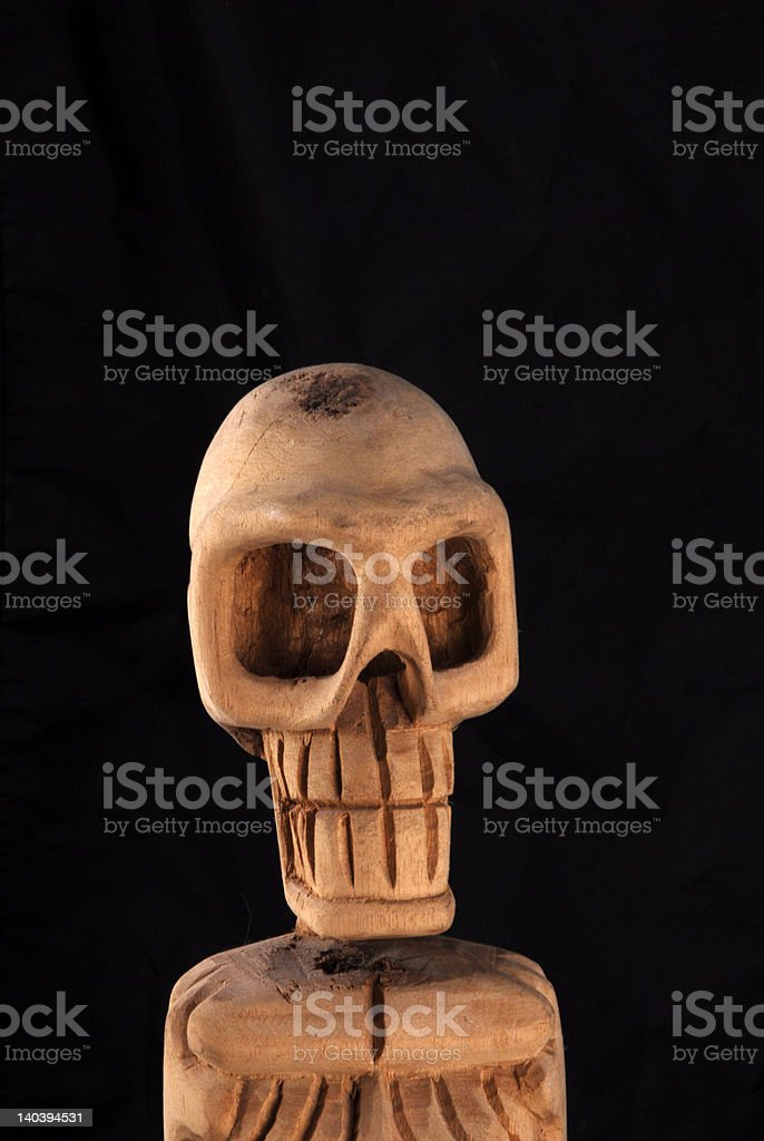 skelton exposed royalty-free stock photo