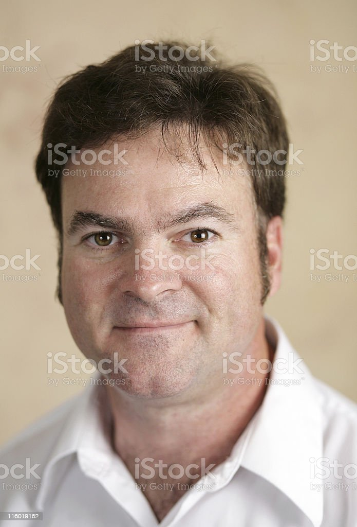 Skeptical Guy royalty-free stock photo