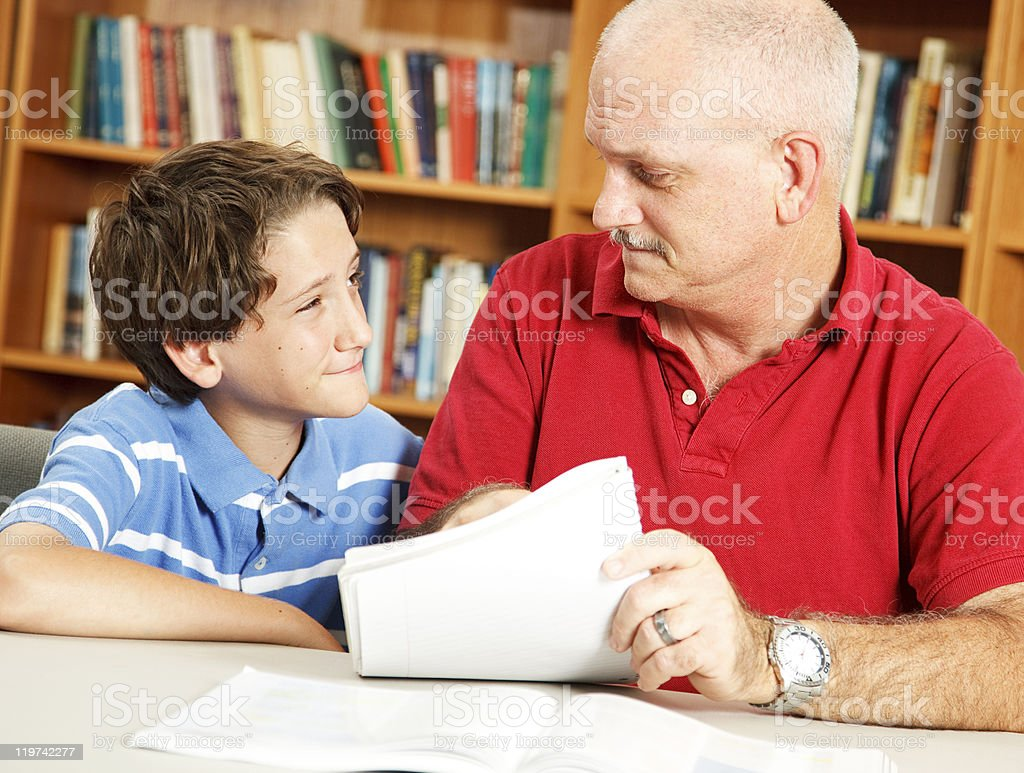Skeptical Student royalty-free stock photo