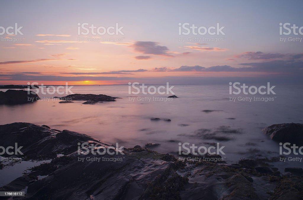 Skerries Ocean stock photo