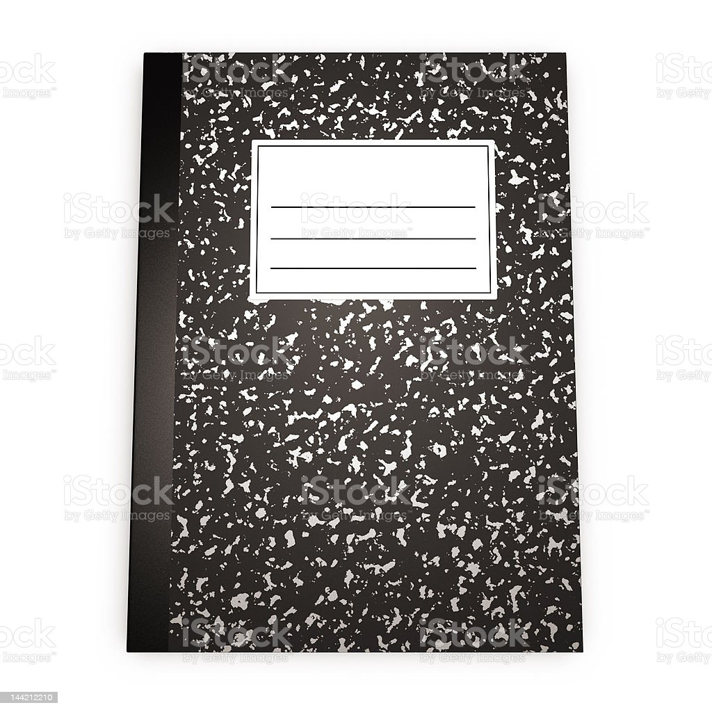 sketch book b royalty-free stock photo
