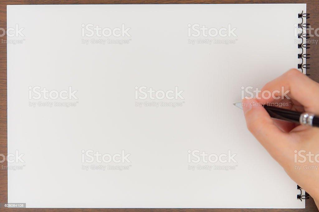 Sketch Pad stock photo
