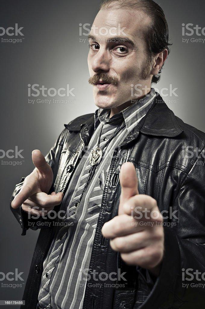 Sketchball Dude stock photo