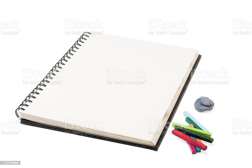 sketchbook royalty-free stock photo