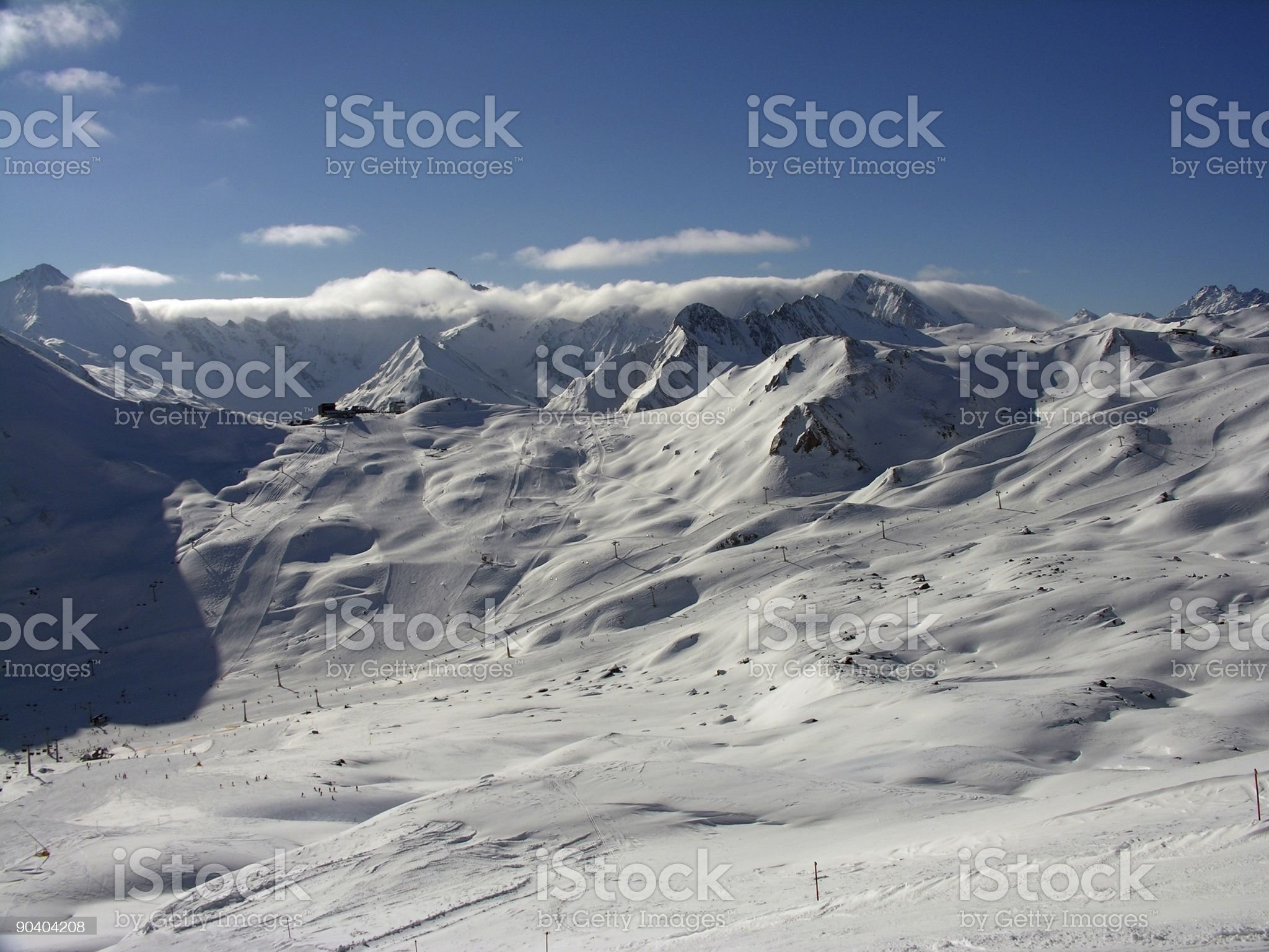 ski arena royalty-free stock photo