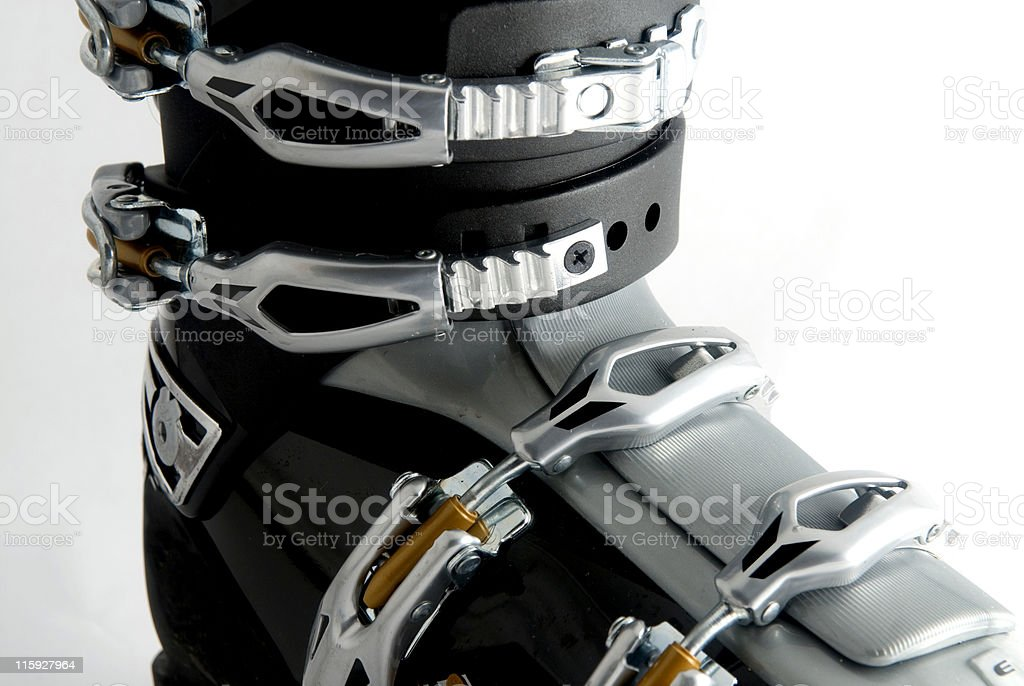 Ski boot royalty-free stock photo