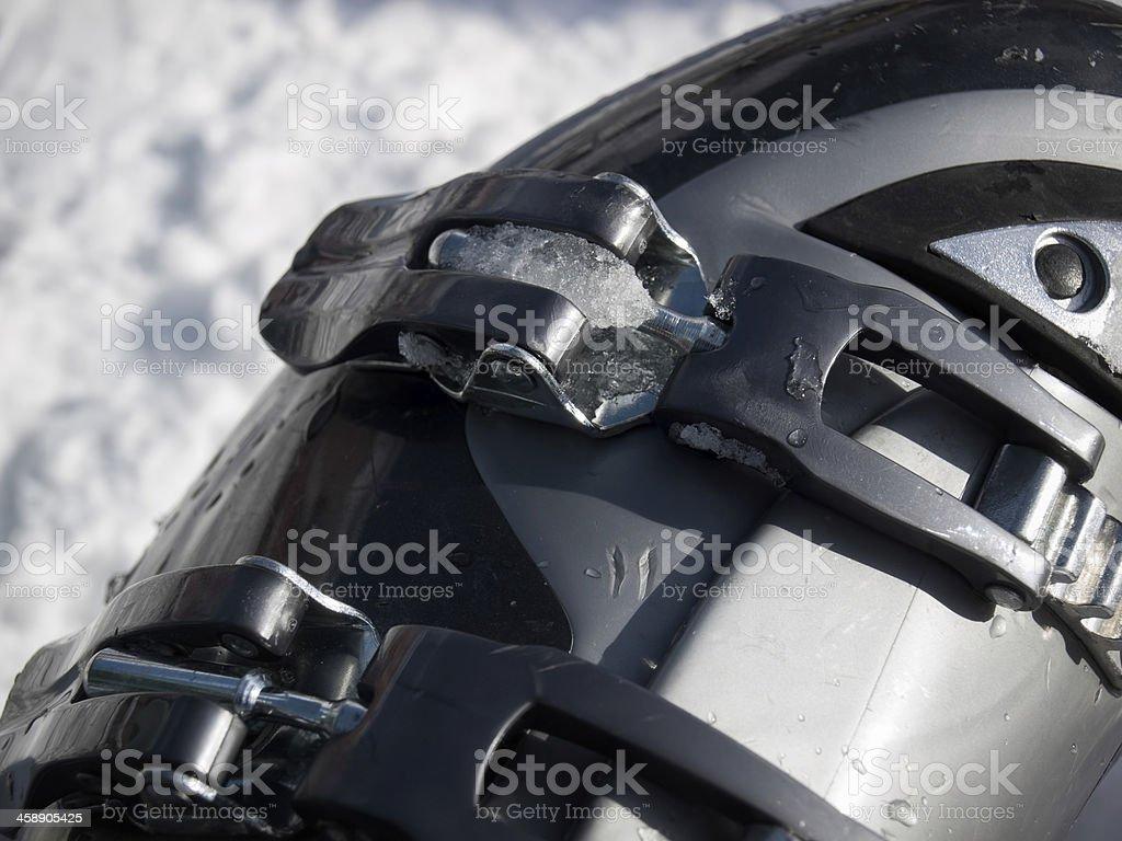 Ski boot royalty-free stock photo
