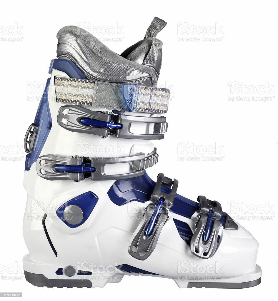 Ski boot workwear stock photo