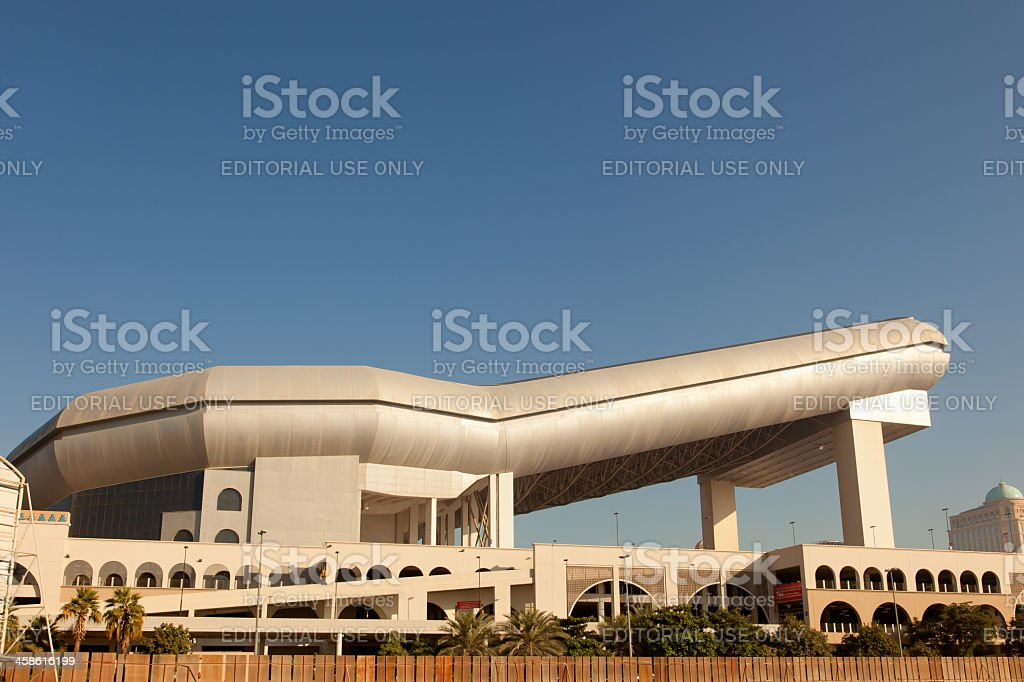 Ski Dudai at Mall of the Emirates royalty-free stock photo