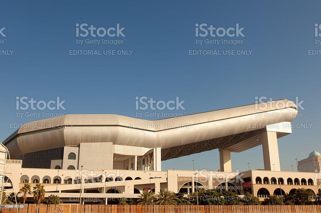 Ski Dudai at Mall of the Emirates stock photo
