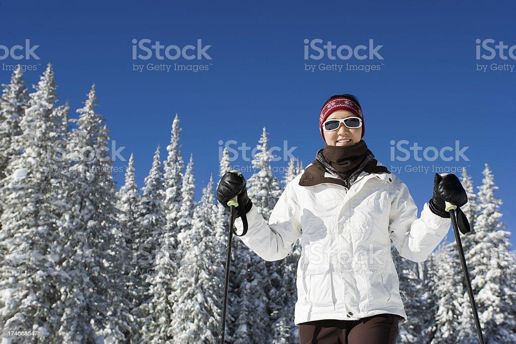ski heaven royalty-free stock photo