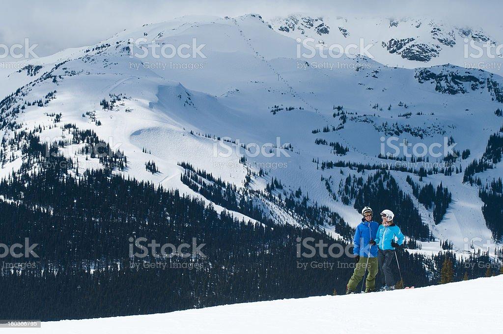 Ski holidays royalty-free stock photo