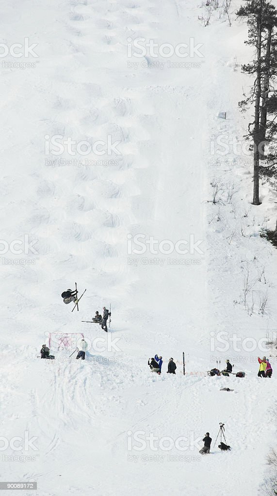 Ski Jump royalty-free stock photo