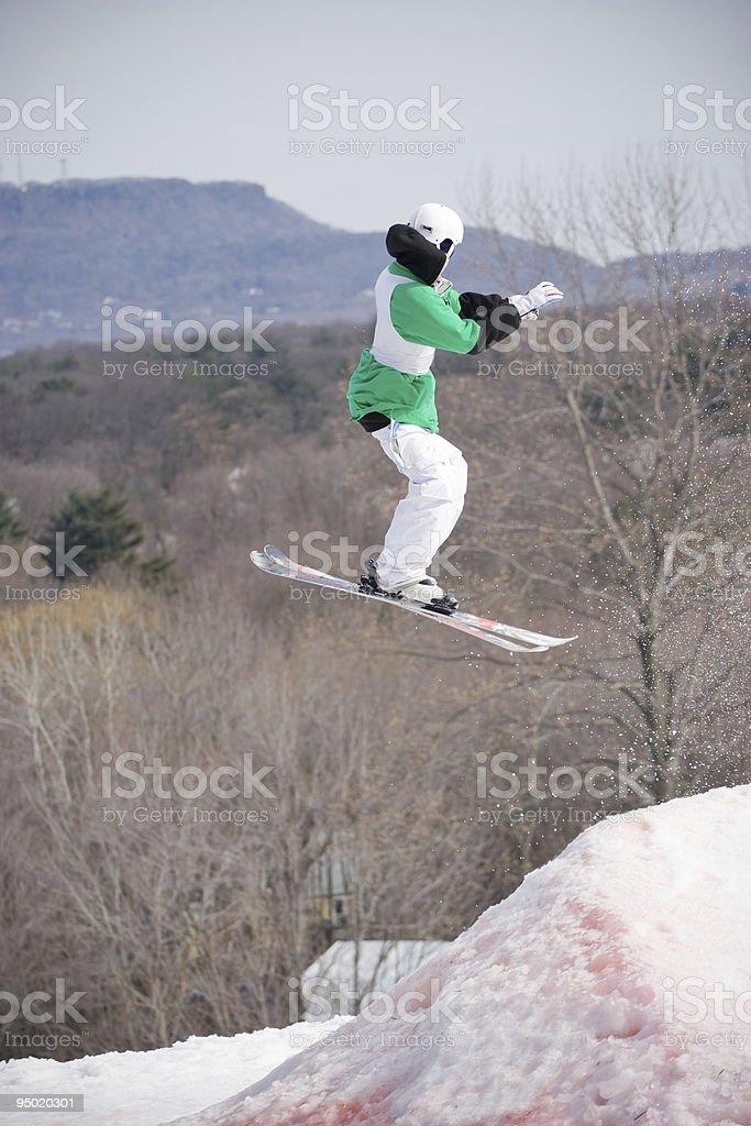 Ski Jumper royalty-free stock photo