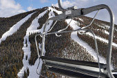 Ski Lift and Slopes