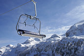 Ski Lift in the Alps