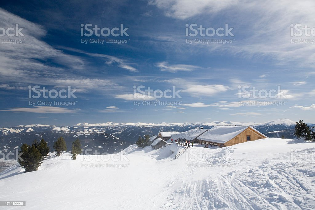 Ski Lodge royalty-free stock photo