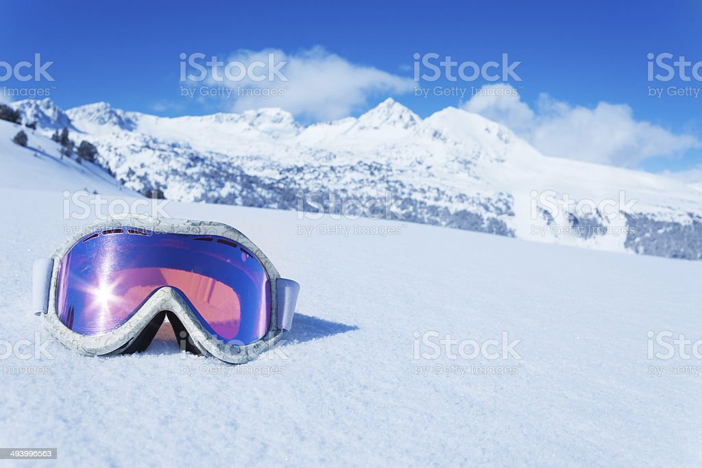 Ski mask stock photo