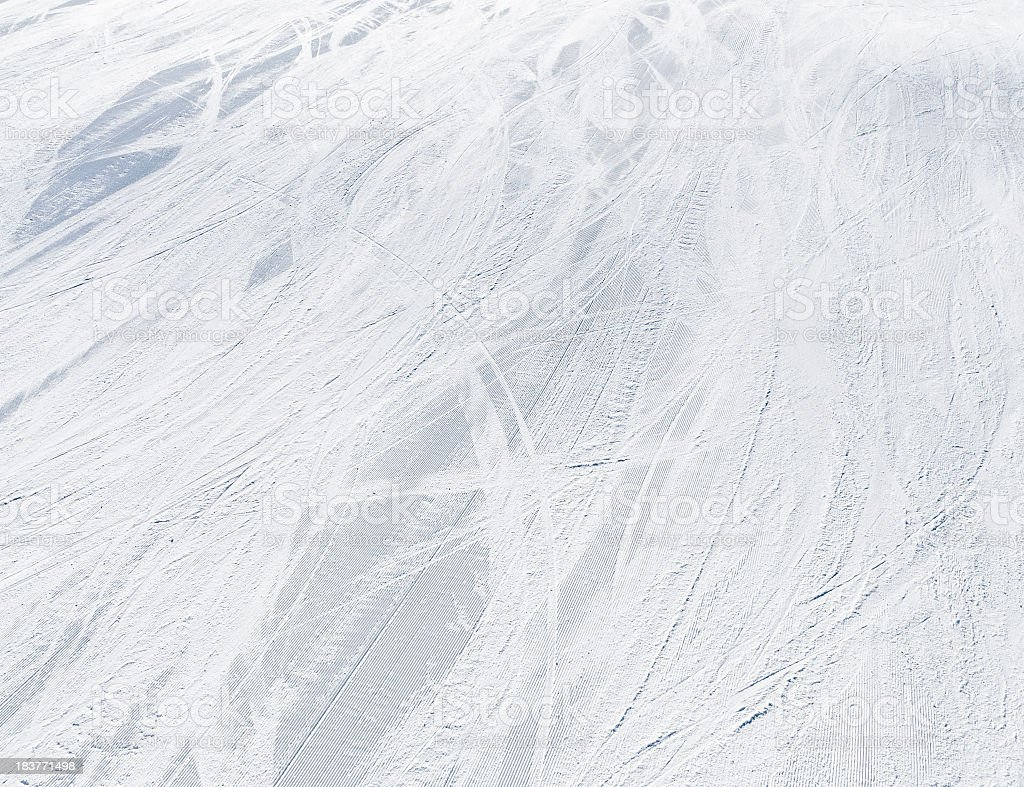Ski Piste Background stock photo