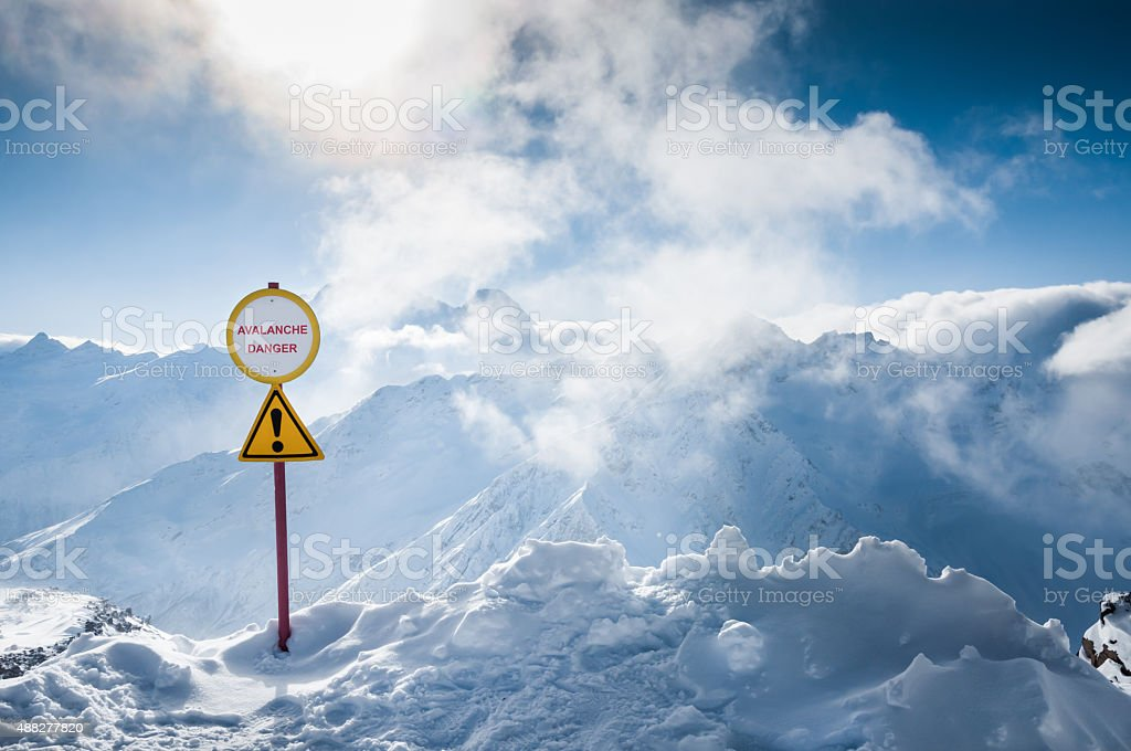 Ski resort Elbrus. Caucasus, Russian Federation stock photo