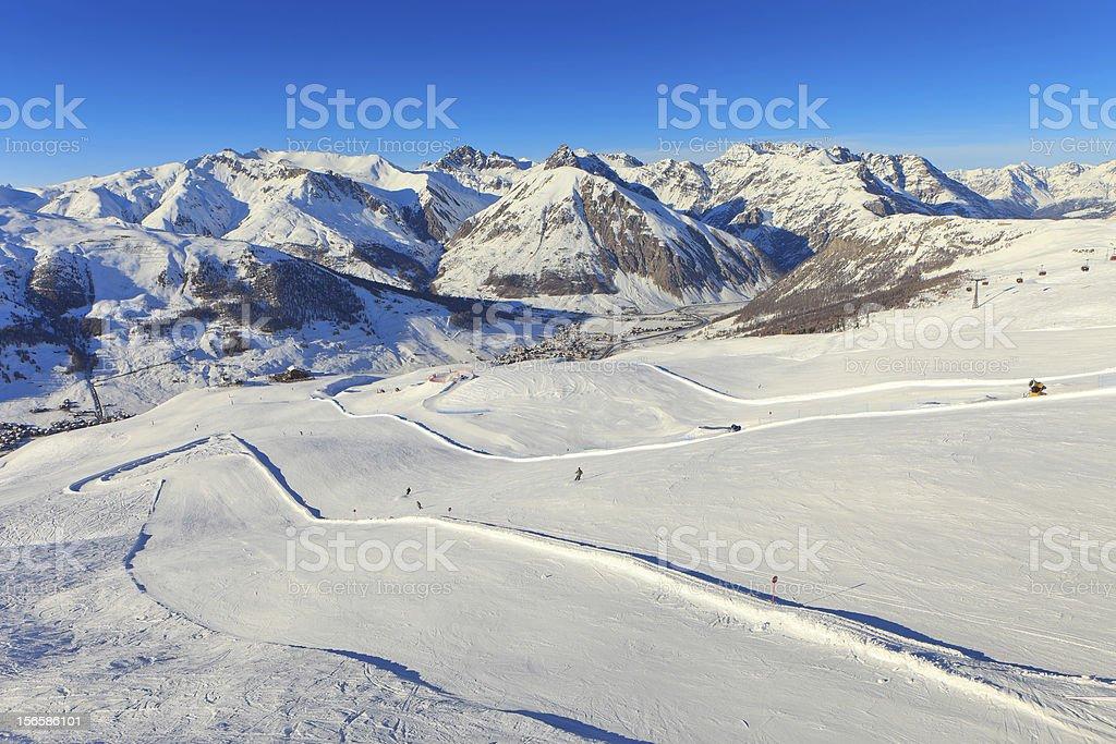 Ski Resort royalty-free stock photo