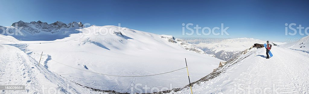 Ski resort royalty-free stock photo
