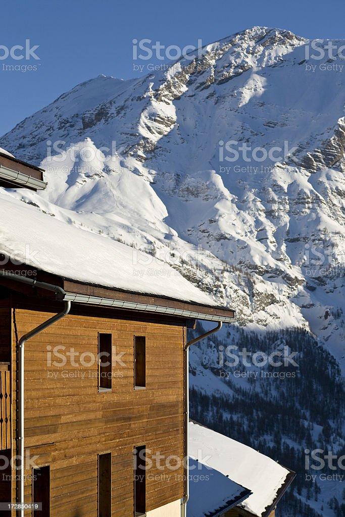 Ski Resort Winter royalty-free stock photo
