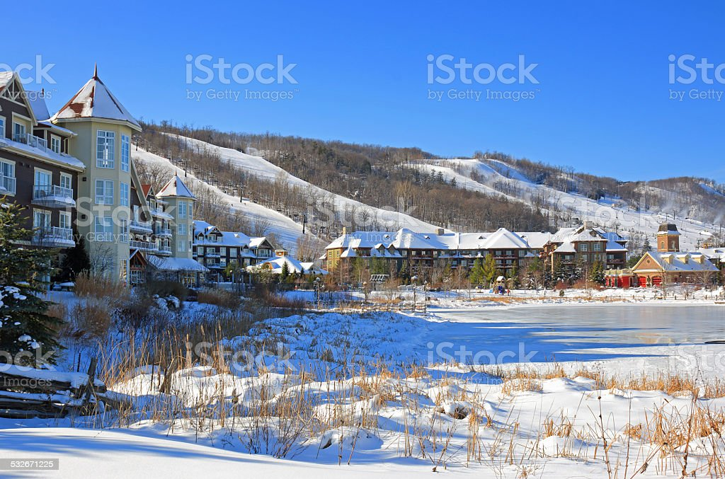 Ski Resorts stock photo