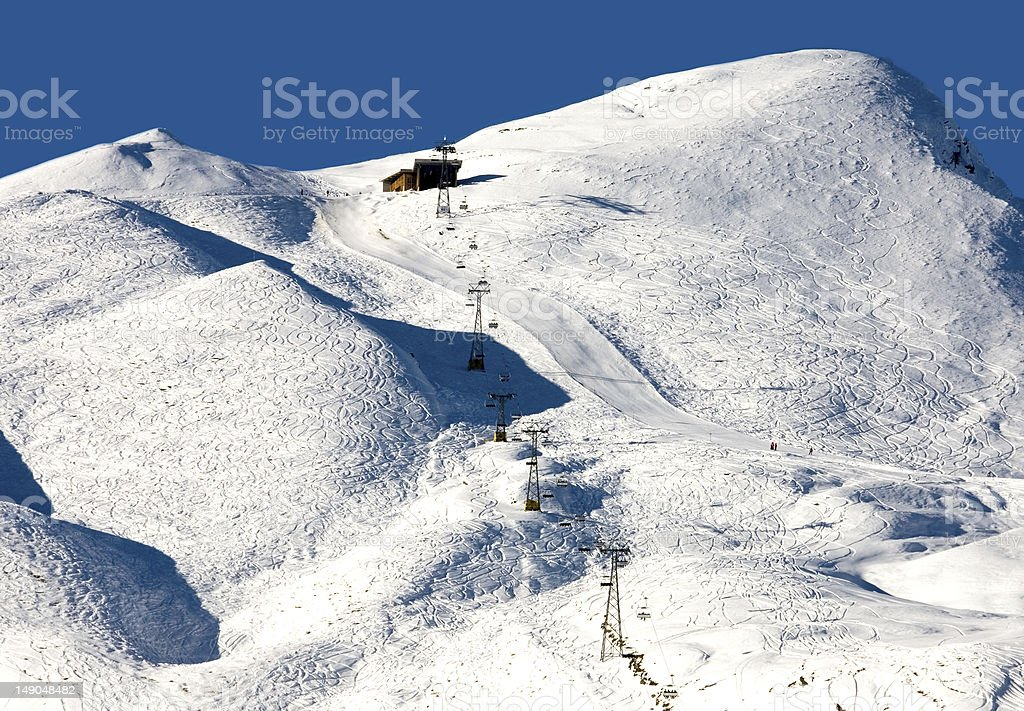 Ski Runs stock photo