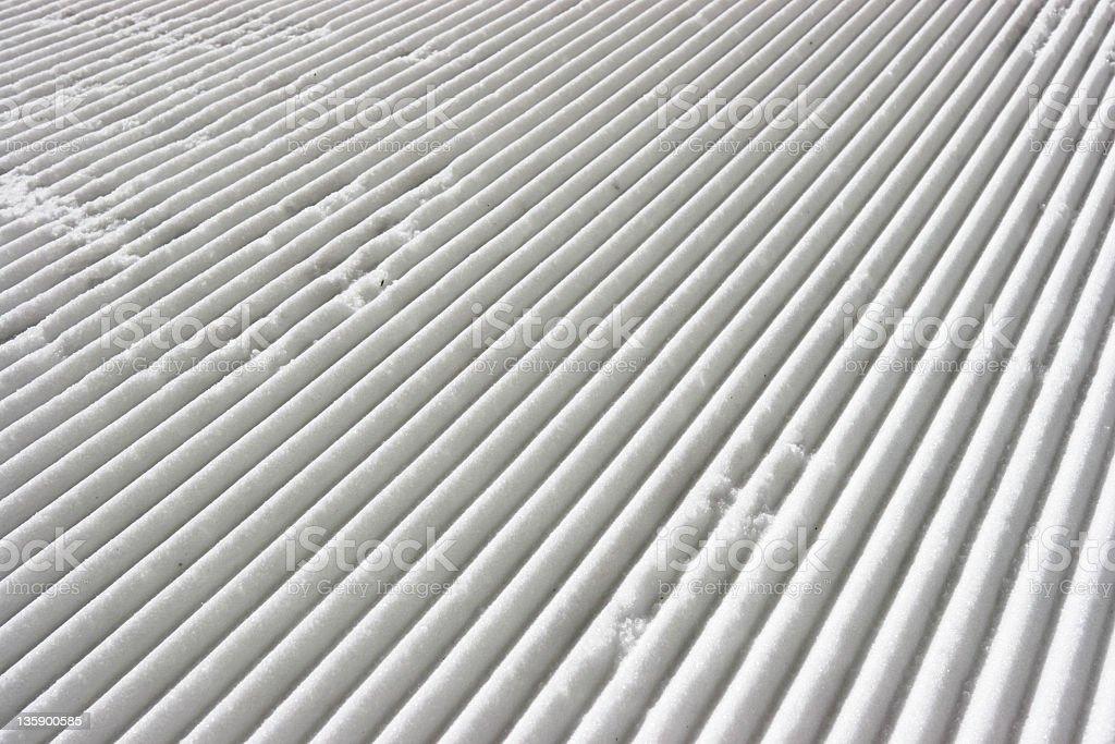 Ski slope royalty-free stock photo