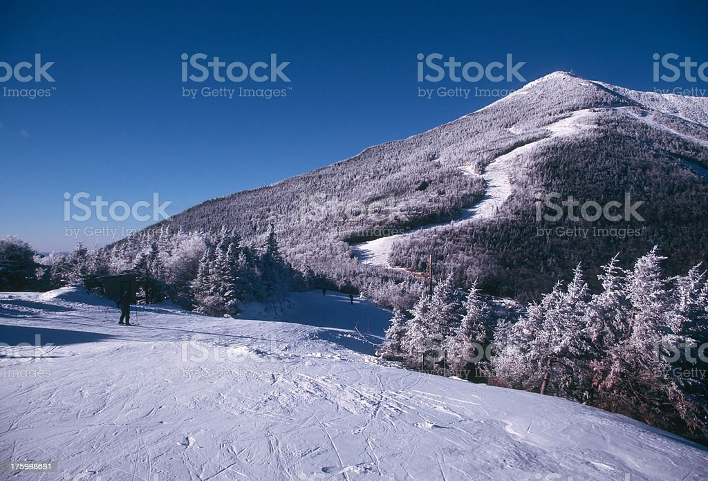 Ski Slope royalty-free stock photo