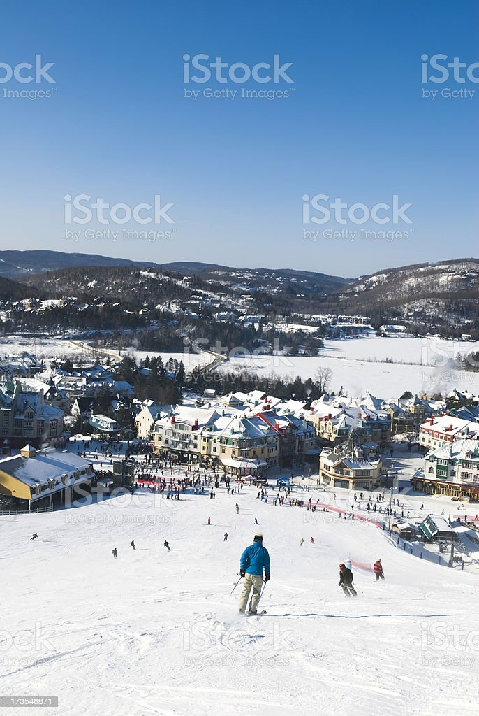 Ski time - II royalty-free stock photo