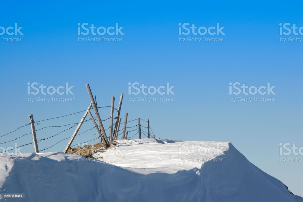 Ski tour to Kotalmjoch and Stuhljoechl stock photo