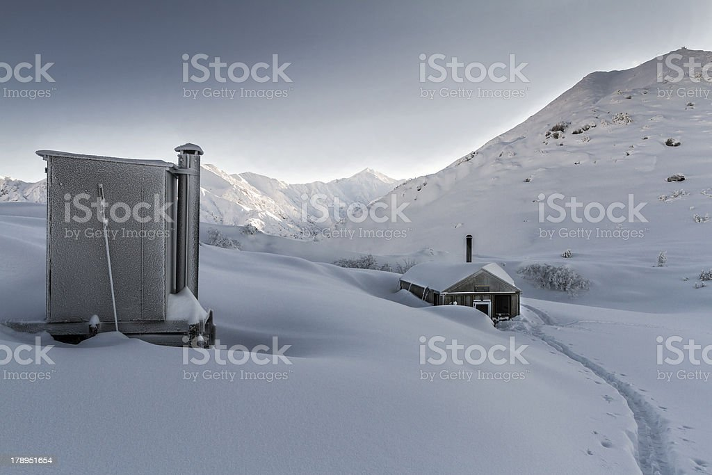 Ski Touring royalty-free stock photo