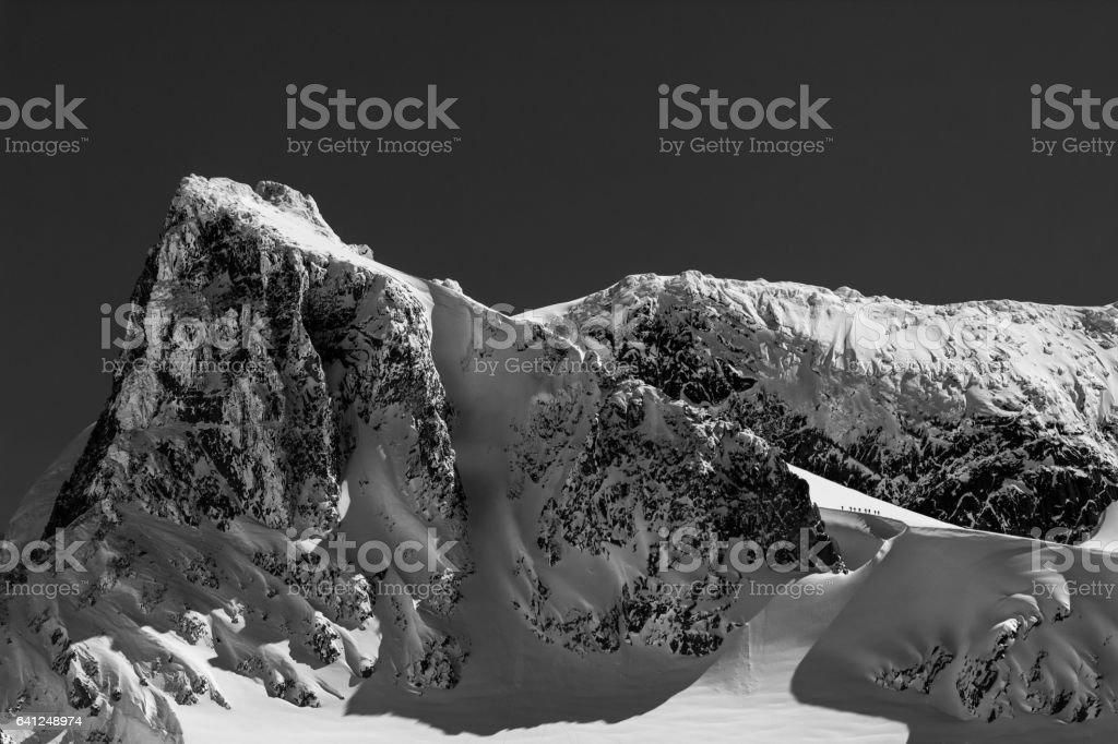 Ski Touring stock photo