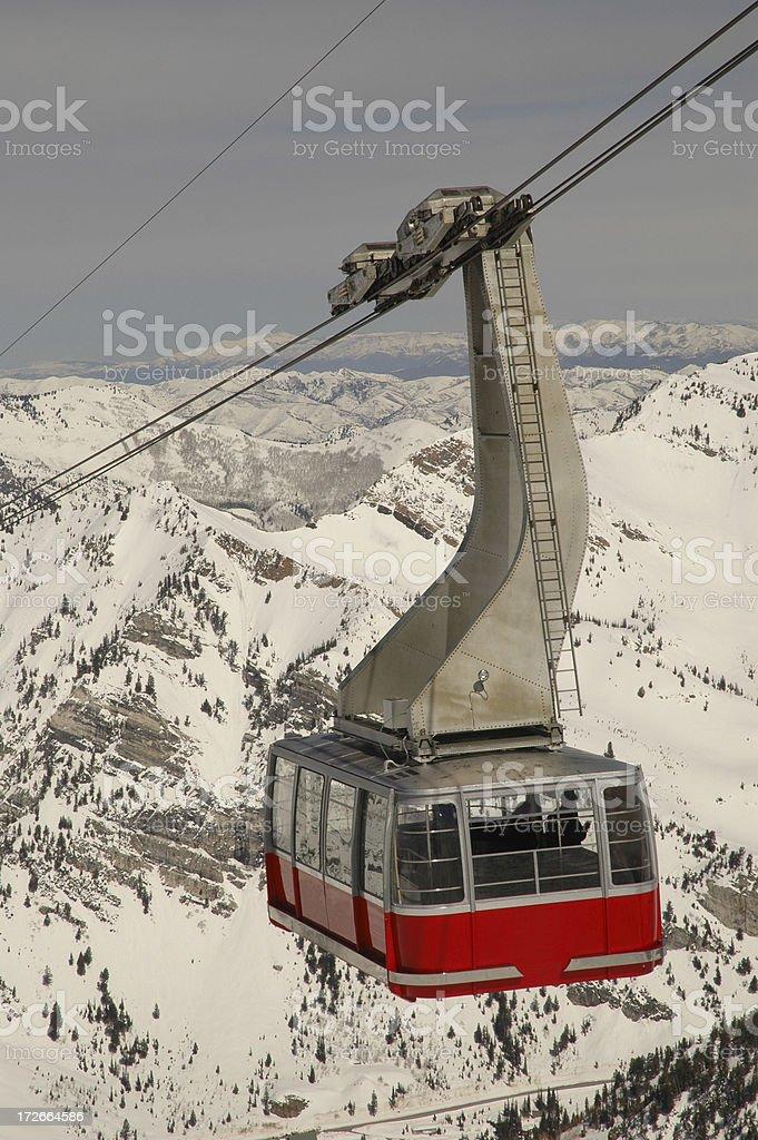 Ski Tram 01 royalty-free stock photo