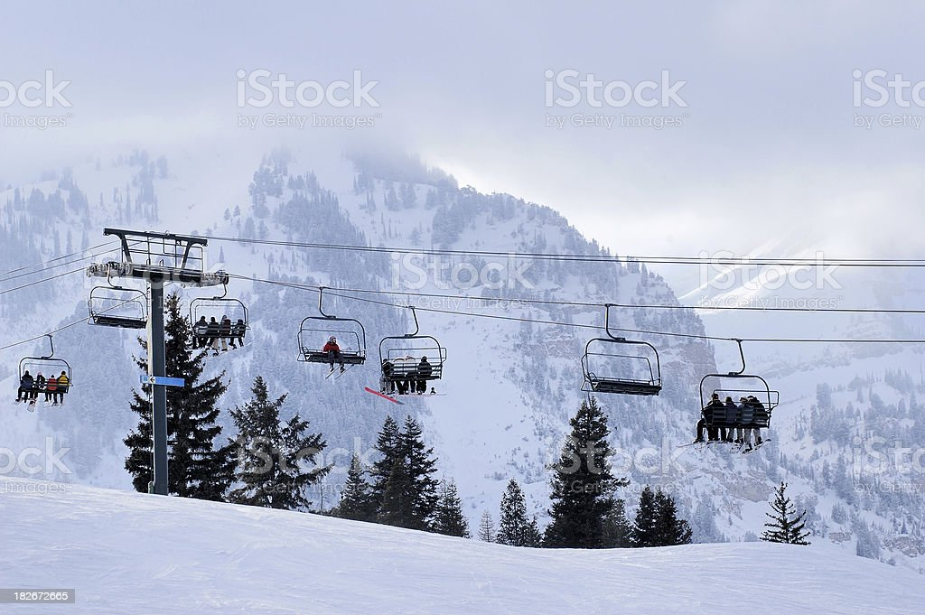 Ski Vacation royalty-free stock photo