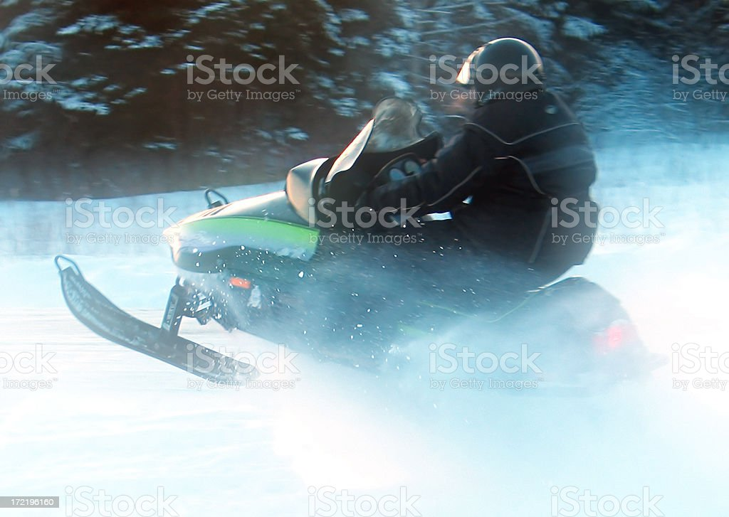 Skidoo Fun - 3 royalty-free stock photo